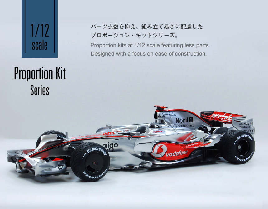 1/12 Scale Proportion Kit