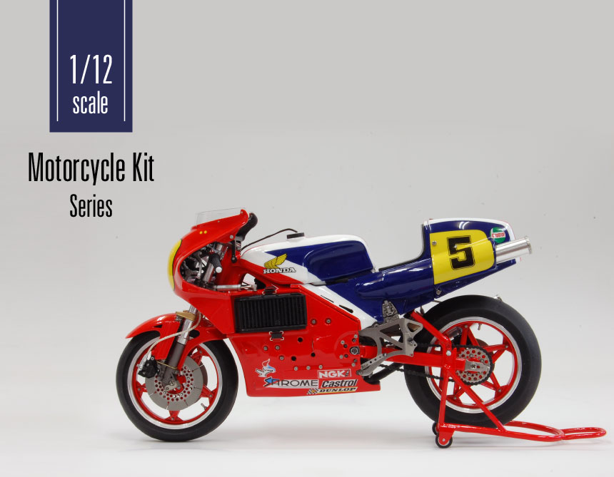 1/12 Scale Mortorcycle Kit