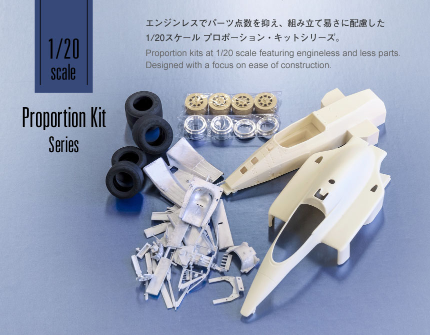 1/20 Scale Proportion Kit