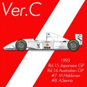 1/43scale Fulldetail Kit : McLaren MP4/8