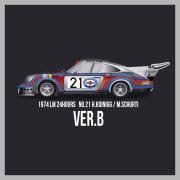 1/12scale Fulldetail Kit : 911 Carrera RSR Turbo